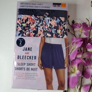 Jane and Bleecker 2-pack Sleep Short